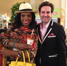 Shane and Sheryl Lee Ralph – actress, author and activist